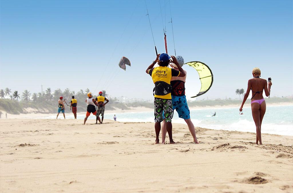 Kiteboarding para principiantes