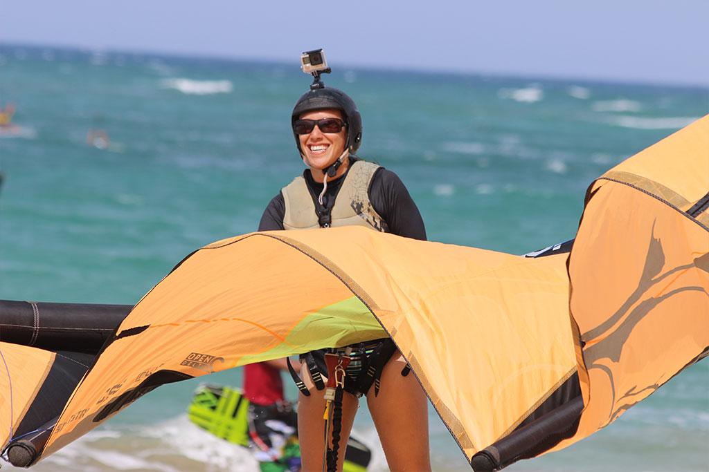 blog: Ode to girs who kitesurf,