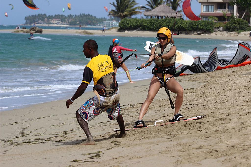blog: Ode to girs who kitesurf