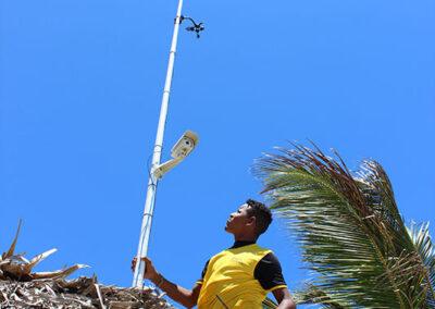 Windguru weather station installation
