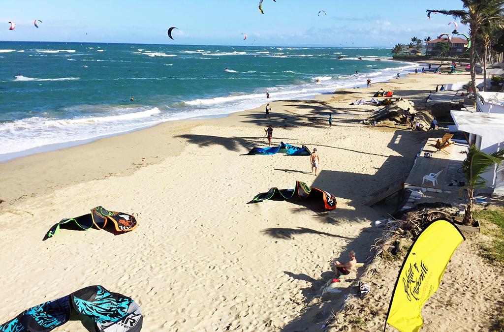 Parece que estamos haciendo una gran temporada de kiteboarding este invierno