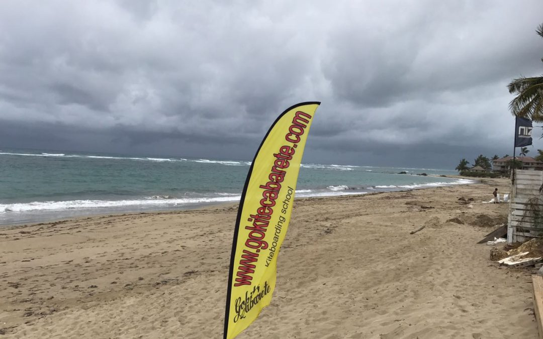 Update No 1 – Hurricane Maria – Kite Beach, Cabarete, Dom. Rep.