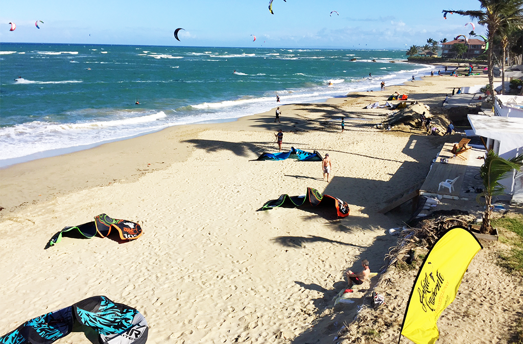Seems like we're up for a great kiteboarding season this winter